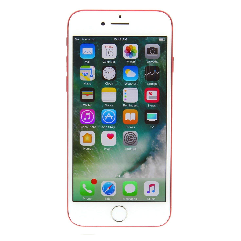 Apple iPhone 7, 128GB, Red - for Sprint/Verizon (Renewed)