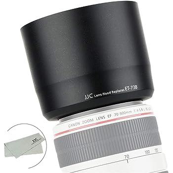 Camera Lens Hoods for Canon 70-300mm is USM Black ET73B Cameras,ET-73B Replacement Lens Hood for Canon