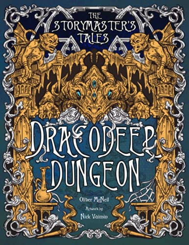 """The Storymaster's Tales """"Dracodeep Dungeon"""" Fantasy Adventure: Become a Hero in a Grimm Family tabletop Role-Playing Boardgame Game Book. Old and ... Family RPG Solo-5 players, Kids and Adults)"""