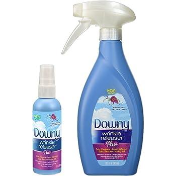 Downy Wrinkle Releaser Plus 16.9 fl oz with Travel Size Spray 3 fl oz - Combo Pack