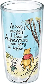 Tervis Disney-Winnie the Pooh Adventure Insulated Tumbler with Wrap, 16oz, Clear