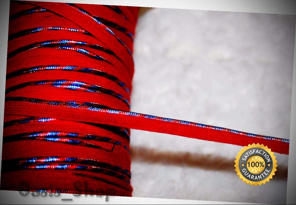 5 Yards Cherry red Royal At the price Blue Lip Piping Max 88% OFF Cord 1 Upholstery Trim
