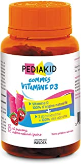 Ineldea Pediakid Gominolas Vitamina D3-60 unidades