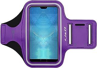 J&D Compatible para Huawei P30 Pro/P20 Pro/Mate 20/Mate 20 Pro/Mate 20 Lite/Y9 2019/Y6 2019/P Smart 2019/Nova 3/Honor 8X Brazalete Deportivo para Correr, Ranura para Llave y Conexión con Auriculares