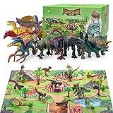 Dinosaurio Juguetes Regalo Para Niños, Dinosaurio Figuras Juguete para 6 7 8 Años Niñas Dinosaurio Mundo Set Juguetes Edad 3 4 5 Regalo de Cumpleaños Para Niños Para 3-12 Años Juego de Dinosaurios