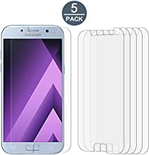 Samsung Galaxy A5 2017 Screen Protector Film, [5 Pack] Tonvizern High Defintion Ultra Clear Screen Protector for Galaxy A5 2017 [Not Glass]
