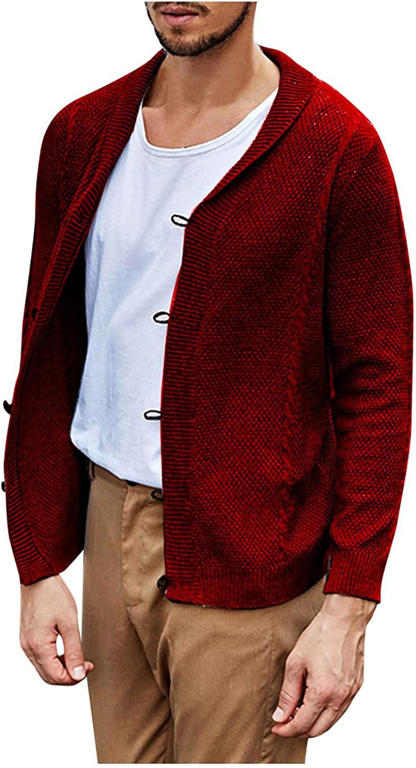 GGGK Men's Autumn Winter Solid Casual New Shipping Free Shipping Color Single- Shirt Lapel Max 72% OFF