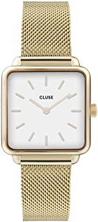 Women's Quartz Watch with Stainless Steel Strap, Gold, 16 (Model: CW0101207002)