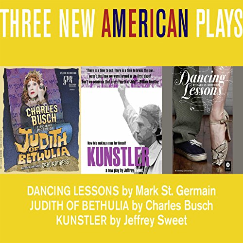 Three New American Plays audiobook cover art