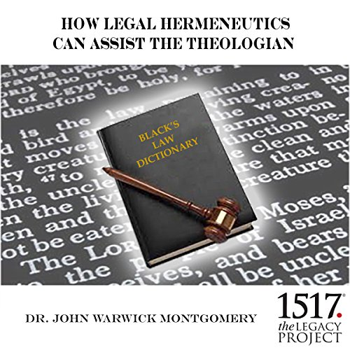 How Legal Hermeneutics Can Assist the Theologian cover art