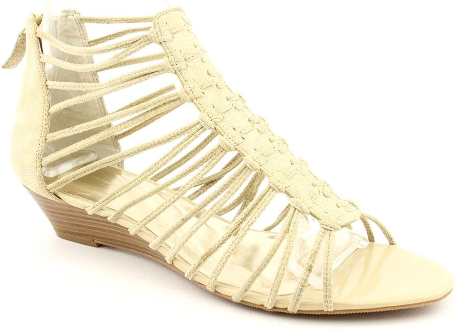 INC International Concepts Rory Womens Size 9.5 Beige Wedge Sandals shoes