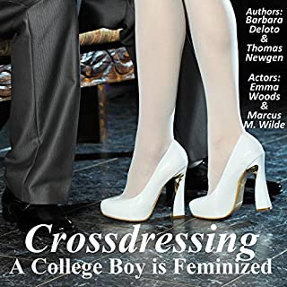 Crossdressing audiobook cover art