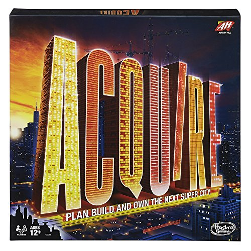 Avalon Hill / Wizards of the Coast C00960000 Acquire Revised - Englisch, Spiel