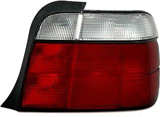 AD Tuning Rückleuchte in Rot Weiß, rechte Seite, Beifahrerseite