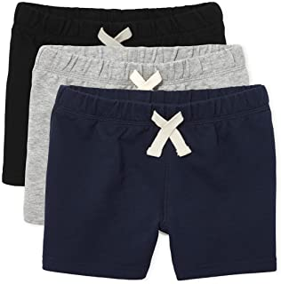 The Children's Place Baby 3 Pack and Toddler Boys French Terry Shorts