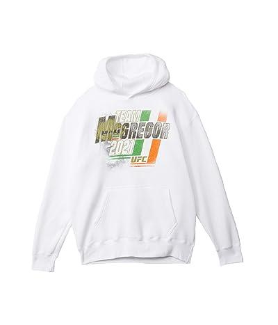 UFC Team Conor McGregor Slant Hoodie (White) Men