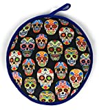 Cloth Tortilla Warmer 11.5 Inch, Insulated and Microwavable Tortilla Holder Pouch, Mexican...