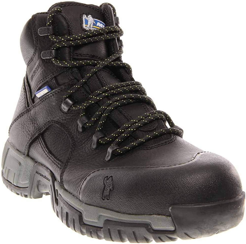 MICHELIN Men's Hydroedge Puncture Resistant Waterproof Work Boot Steel Toe
