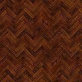 MyTinyWorld Packung mit 5 Stück Puppenhaus Parkett Fußboden 9 Zoll Kakao Farbe Oak Streifen Effekt...