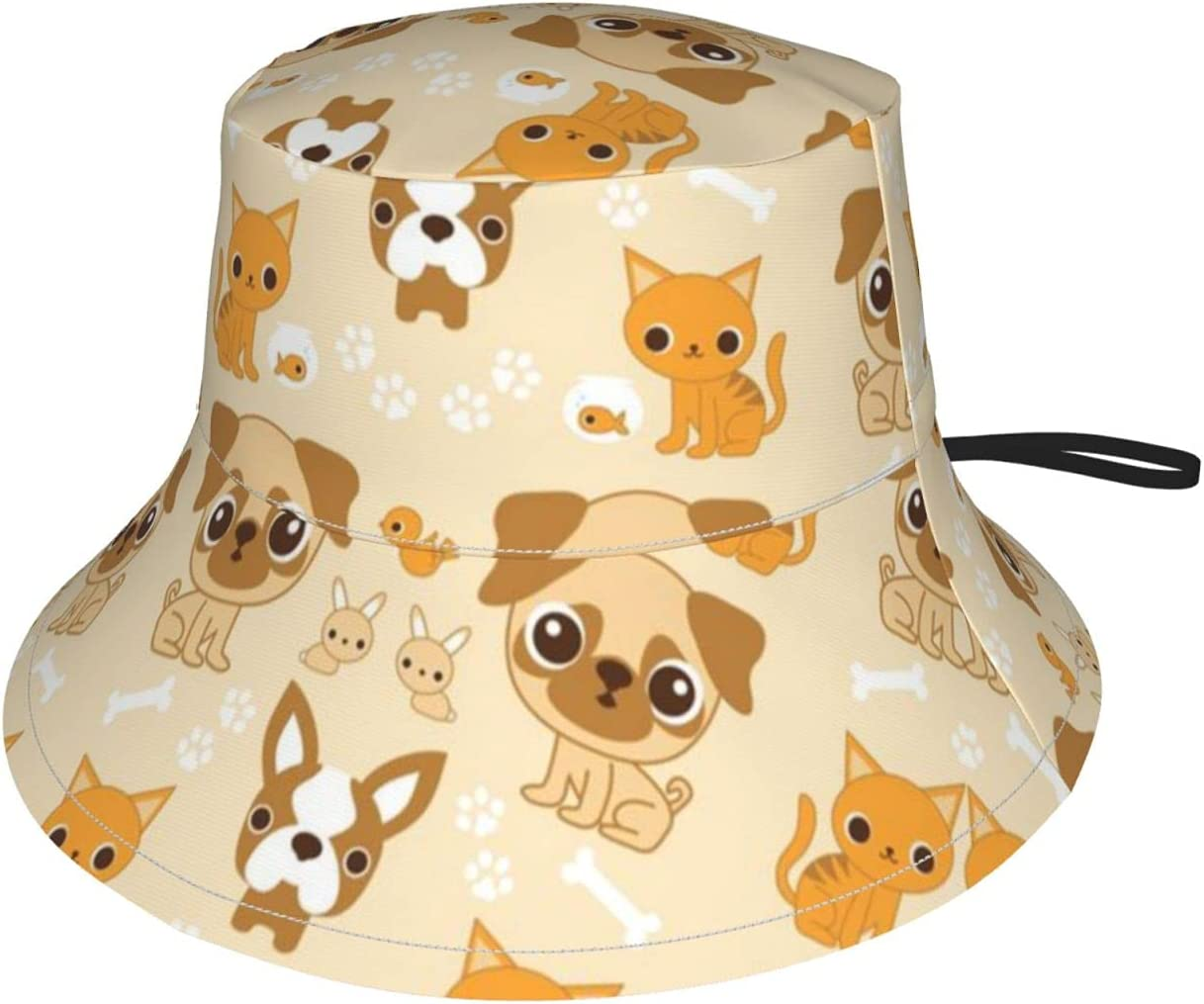 Baby 2021 new Sun Max 40% OFF Hat Dog Print Toddler Infa Girl for Hats Boys