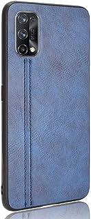 Wuzixi Case for Realme X3 SuperZoom,Matte non-slip, scratch-resistant and fingerprint-resistant PU leather hand-stitched p...