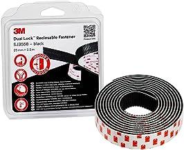 3M™ Dual Lock SJ355B, zwart, 25 mm x 2,5 m, 5,7 mm, blister