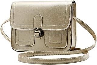 COAFIT Satchel Bag Retro All-Match Flap Cover Mini Shoulder Bag Crossbody Bag for Womens