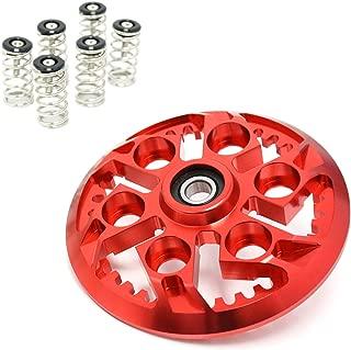 For Ducati Monster 600 750 Multistrada 1000 1100 S SuperSport Red Black Billet Swheel Clutch Pressure Plate Springs Set