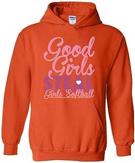 Xekia Good Girls Steal Girls Softball Unisex Hoodie Sweatshirt