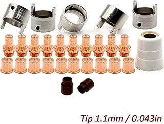 Plasma Electrode Tip PR0063 PD0088-11 for Eastwood Versa-Cut 60amp Cutter CB70 Torch Consumables 28pcs