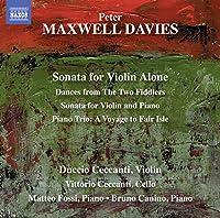Davies: Sonata for Violin Alon