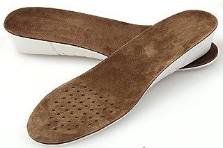 邁高樂 增高鞋墊男女內增高鞋墊真豬皮防臭吸汗增高墊全墊1/2/3cm