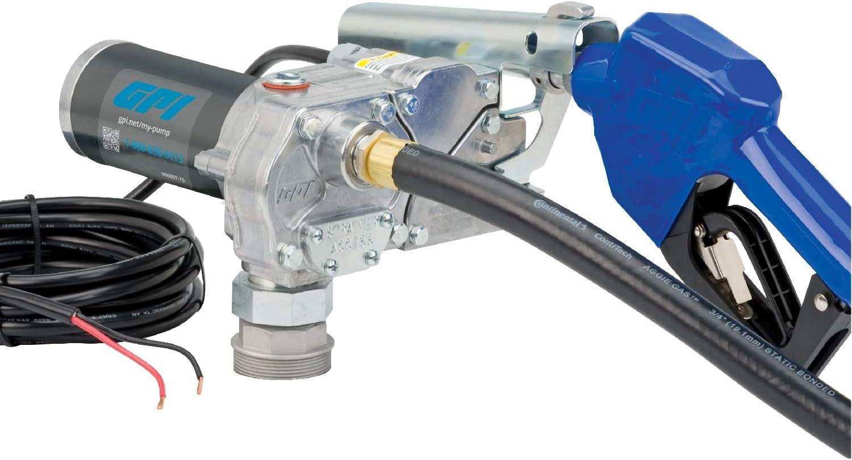 GPI Popular overseas M-150S Fuel Transfer Pump Nozzle Automatic 15 Shut-Off Popular GPM