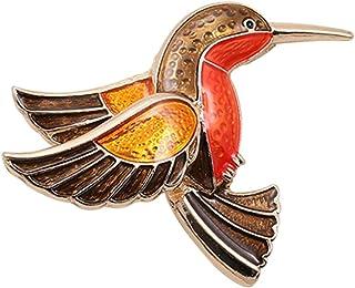 Oce180anYLV Creativo Spilla Pin retrò Uccello Spilla Pin Collare Smalto Distintivo Donne Jeans Cappello Sciarpa Vestiti Gi...