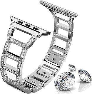 d793928511 ITSHINY pour Bracelet Apple Watch 38mm 40mm Femmes, Bracelets Iwatch Mode  réglable, iWatch Remplacement