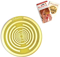 Polarix© Gold - Pain Relief Disc   Chakra Healing Therapy   Pain Relief Patches Alternative Medicine for Pain Killers with Therapeutic Benefits of The Gold   fi 80mm   Lakhovsky & Nikola Tesla Design