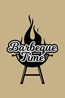 Barbeque Time: Blank Paper Sketch Book - Artist Sketch Pad Journal for Sketching, Doodling, Drawing, Painting or Writing