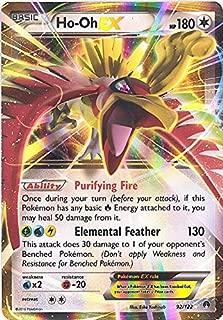 Pokemon - Ho-Oh-EX (92/122) - XY Breakpoint - Holo
