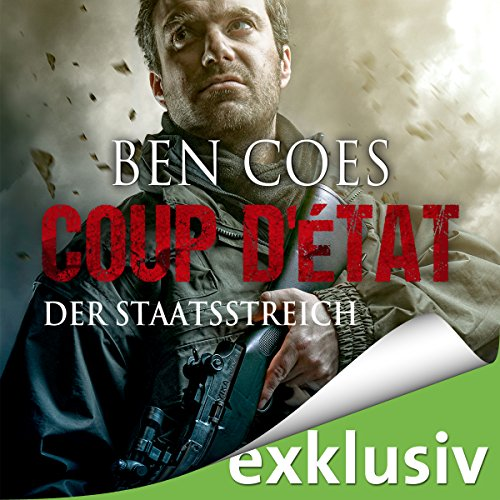 Coup D'État audiobook cover art