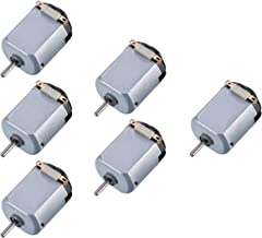 Topoox 6 Pack DC 1.5-3V 15000RPM Mini Electric Motor for DIY Toys, Science Experiments