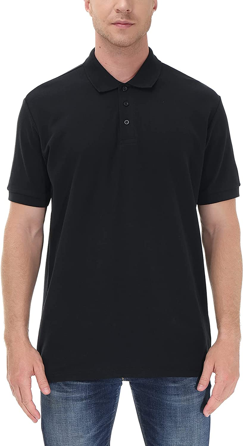 DGG Men's Special price Classic Polo Shirts Sleeve Solid Work Shipping included Breathable Short