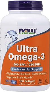 NOW Foods - Ultra Omega-3 500 EPA/DHA - 250 180 Softgels