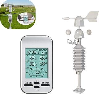 ウェザーステーション 、気象ステーション、気象計器、気象観測、風速、天気予報マシン、ワイヤレス温度および湿度計用の子供向けエントリーレベルギフト
