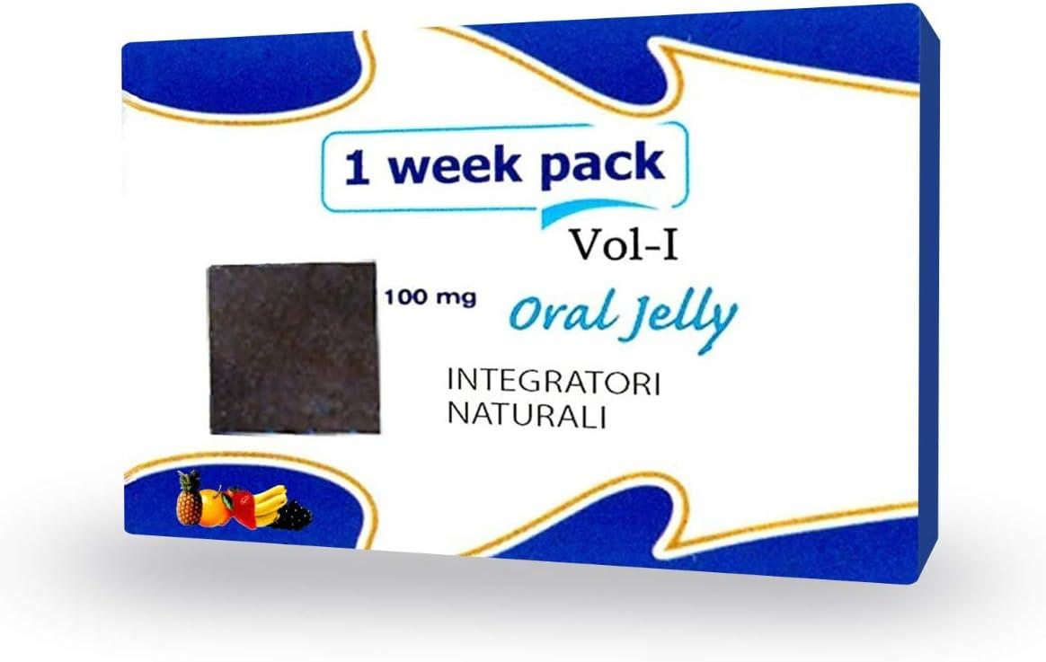 Fuxion Oral Jelly - Vitaminas + aminoácidos - Cantidad 7 sobres para 1 semana