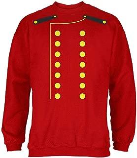 Halloween Hotel Bellhop Costume Red Adult Sweatshirt