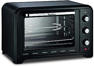 Moulinex OX485810 Four électrique Optimo 39 L Cuisson chaleur tournante, traditionnelle, gril, pâtisserie, bain marie, déc...