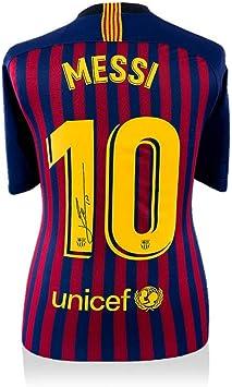 Icons Memorabilia Lionel Messi - Camiseta de Barcelona ...