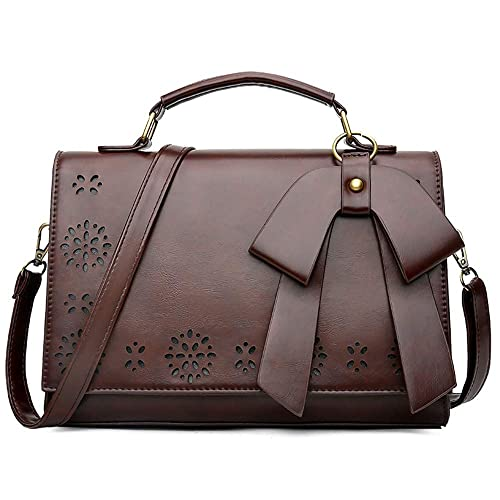c469e1c656e3 Pahajim Handbag leather small women satchel shoulder bag vintage crossbody messenger  bag for evening and party
