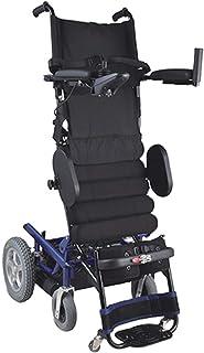 HXCD Levántese la Silla, levántese la Silla de Ruedas eléctrica Plegable Ligera para los Ancianos y los discapacitados