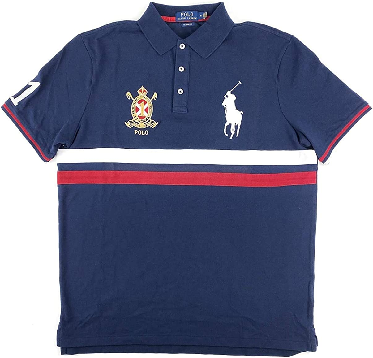 Polo Ralph Lauren Men's Classic-Fit Crest Logo Shi Pony Special price Fees free!! Big
